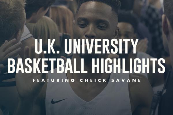 WATCH: Postgraduate U.K. University Basketball Highlights