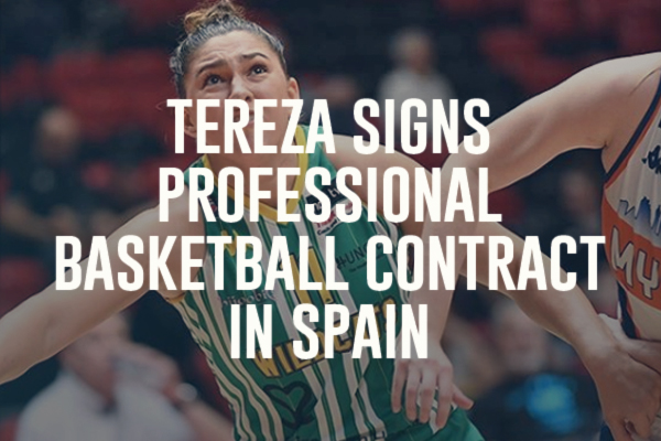 Tereza Signs Professional Basketball Contract In Spain