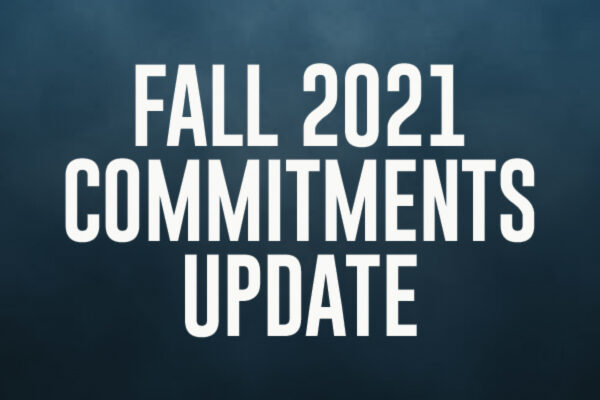Fall 2021 Commitments Update